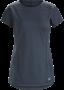 Arcteryx Taema 女款 短袖圓領排汗衣 黑寶石 (2019新款)