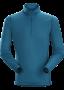 Arc'teryx Phase SL zip LS 男款 輕薄長袖拉鍊排汗衣 神話綠