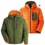 Mont-bell Colorado Parka雙面穿羽絨外套 綠/橘