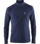 Haglofs Celestial Top 半開襟刷毛保暖衣 男款-亞洲版  深藍(S, L, XL)