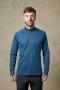 英國RAB Pulse LS Zip 透氣長袖拉鍊排汗衣 男款 墨藍