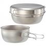 Mont-bell Titanium Bowl Dish Set 一 ~ 二人鈦合金鍋碗組