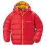 Mont-bell Neige Down 小童連帽羽絨夾克1101486 紅RD 100,110,120cm
