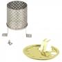Petromax Radiator & Protection Plate 暖爐套件組 金 (適用HK500)