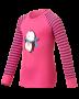 Odlo Shirt L/S Crew WARM 兒童保暖排汗衣 粉紅104cm