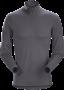 Arc'teryx Phase AR Zip 男款 保暖內層長袖套頭衫 機長灰