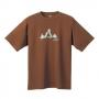 Mont-bell Wickron排汗T恤 山LOGO 1104738 棕