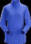 Arc'teryx Phase AR Zip 女款 保暖內層長袖套頭衫 青石藍