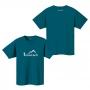 Mont-bell Wickron T Hiker 短袖排汗T恤 男款 #1114245 DKMA汽油藍