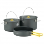 Mont-bell Alpine Cooker 18+20 Pan Set 五 ~ 六人寬口鋁合金鍋具 2.0L/3.0L