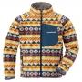 Mont-bell CP100 Print 小童刷毛保暖夾克1106534 黃 90 /100 /110 /120cm